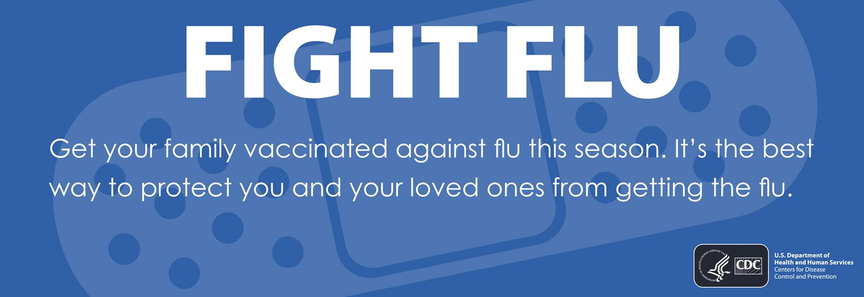 this year, take the fight to the flu!
